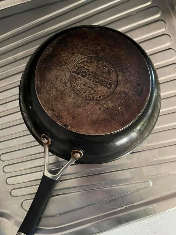 Woman shares 'magic' cleaning hack to restore burnt pans and leave them like new